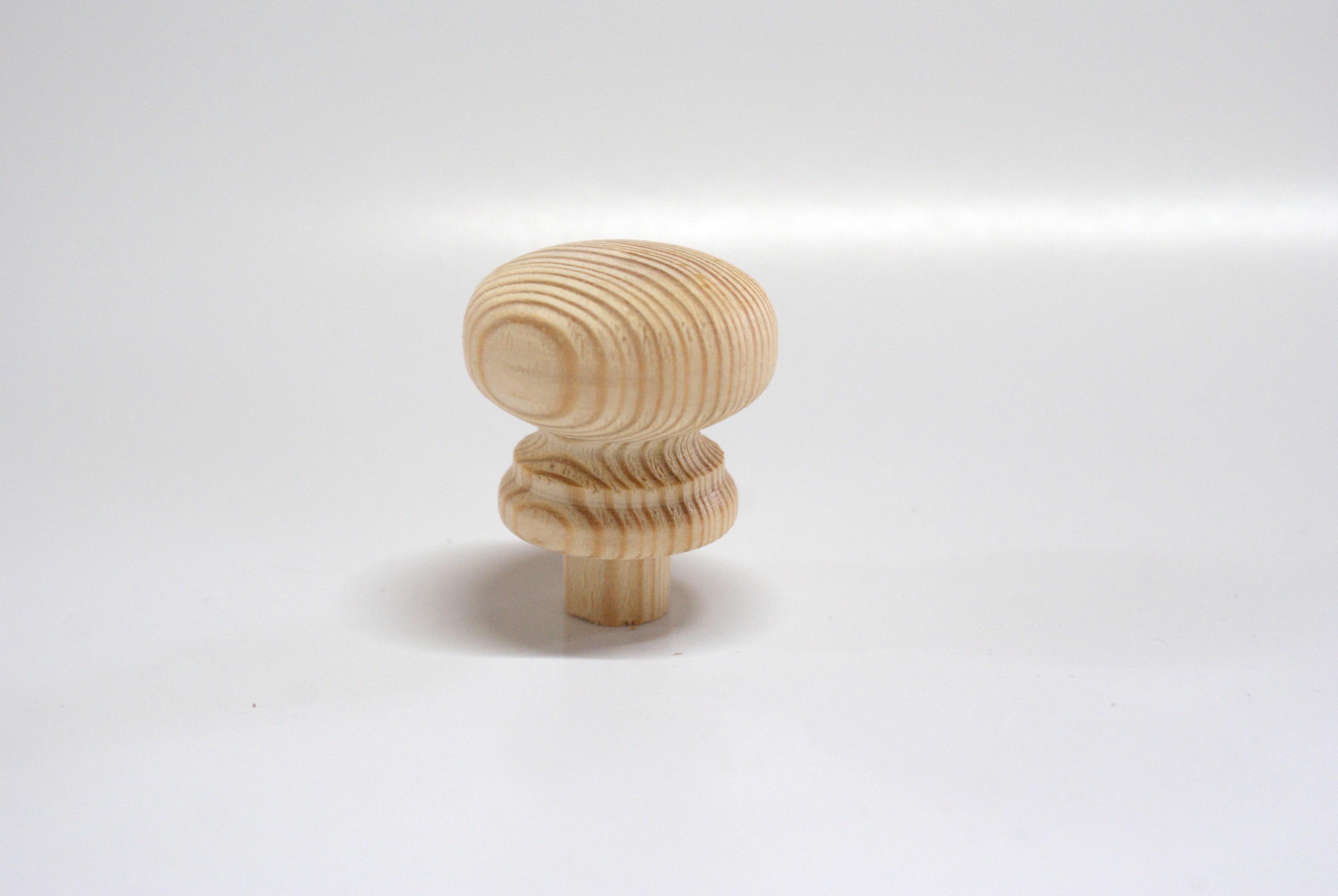 Houten knop