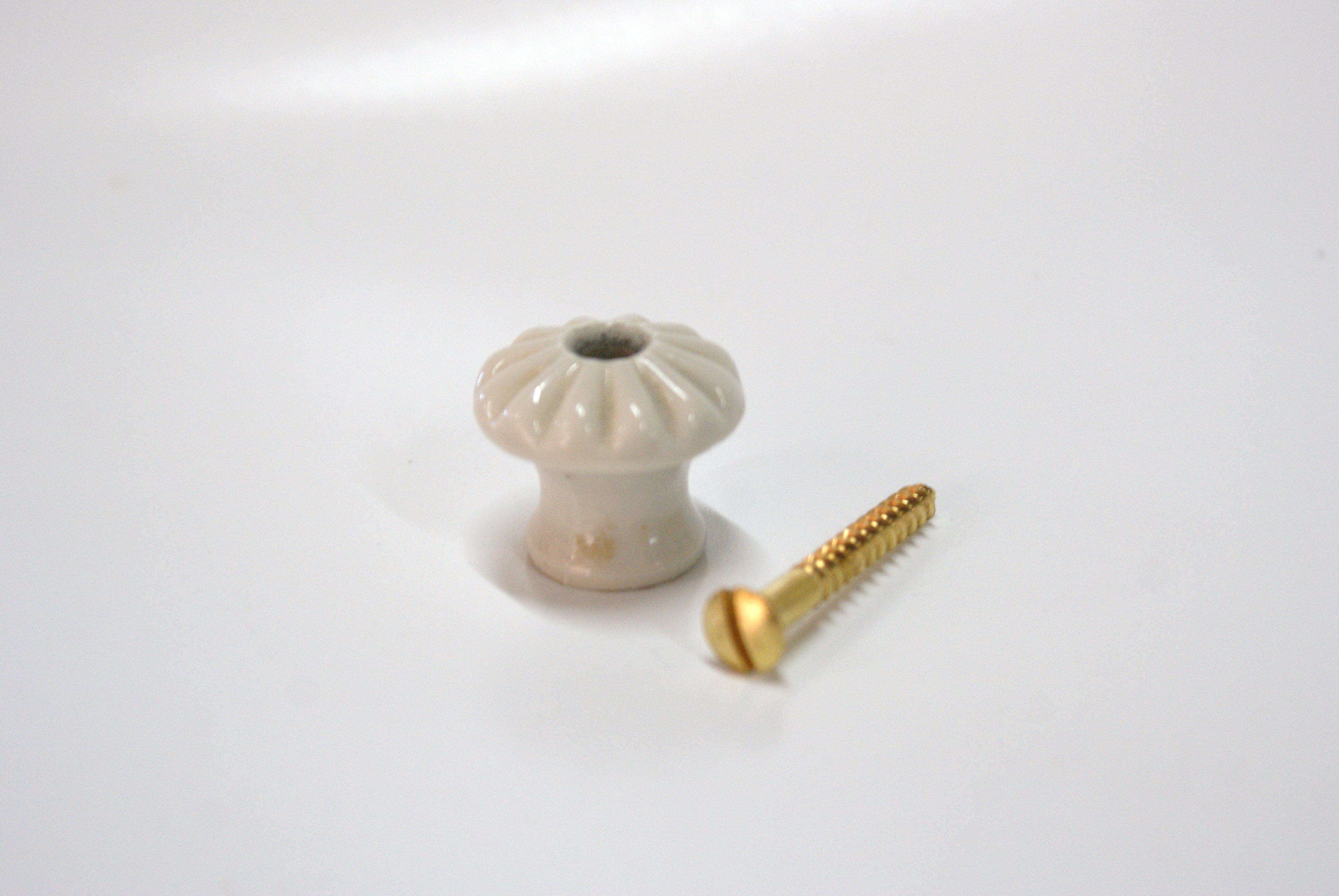porseleinen knop 3 cm