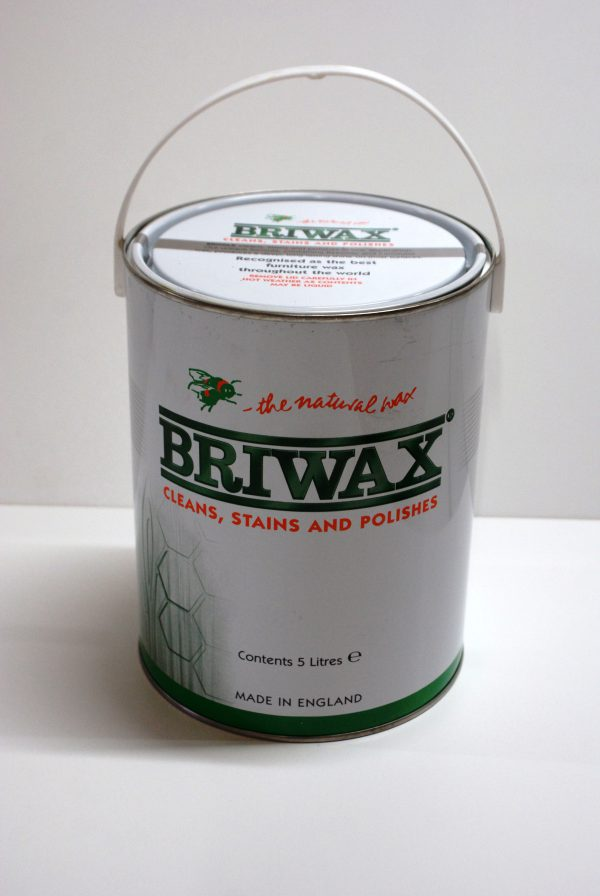 Briwax antique brown 5 liter