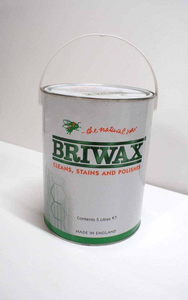 Briwax clear 5 liter