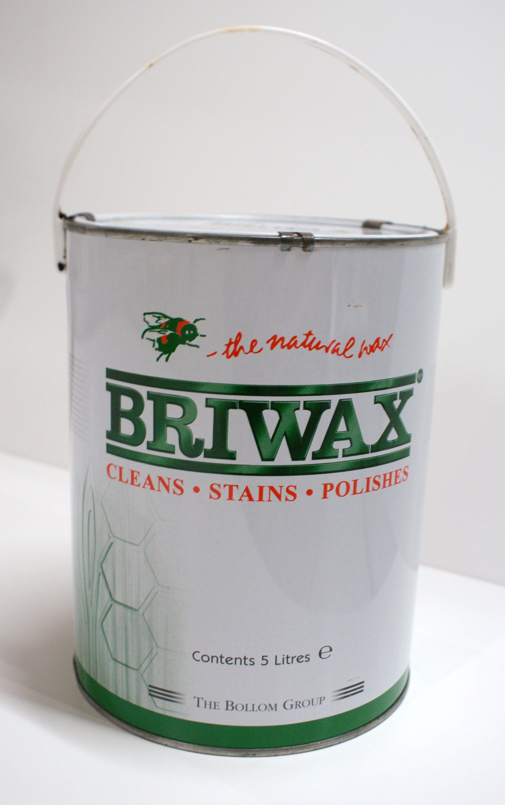 briwax 5 liter medium brown