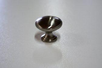 meubelknop mat chroom