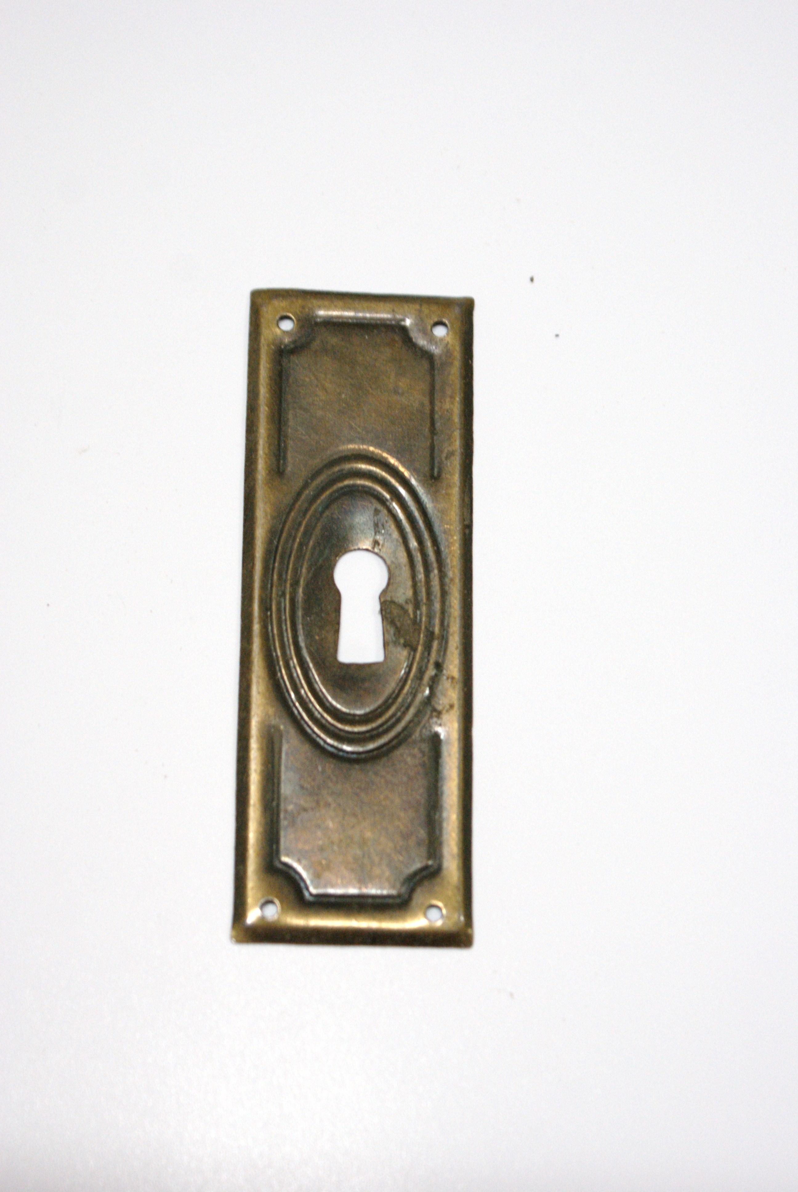 sleutelplaat deur