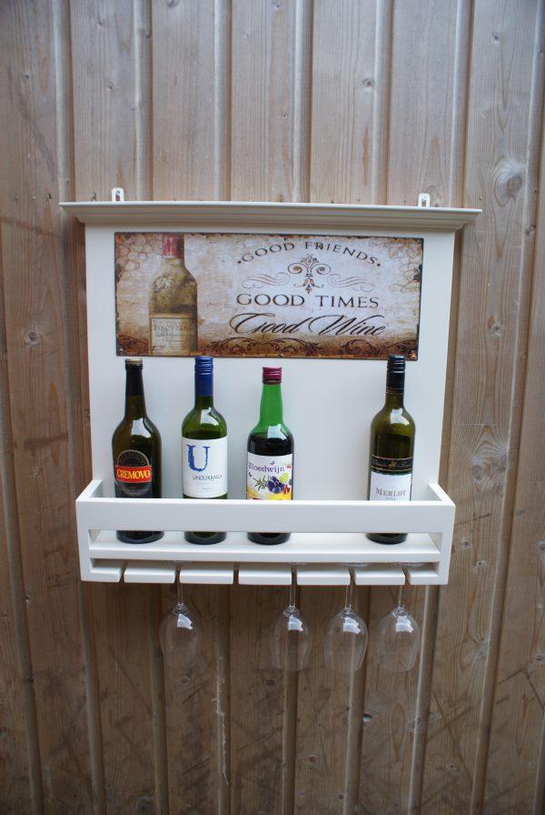 landelijk wijnrek