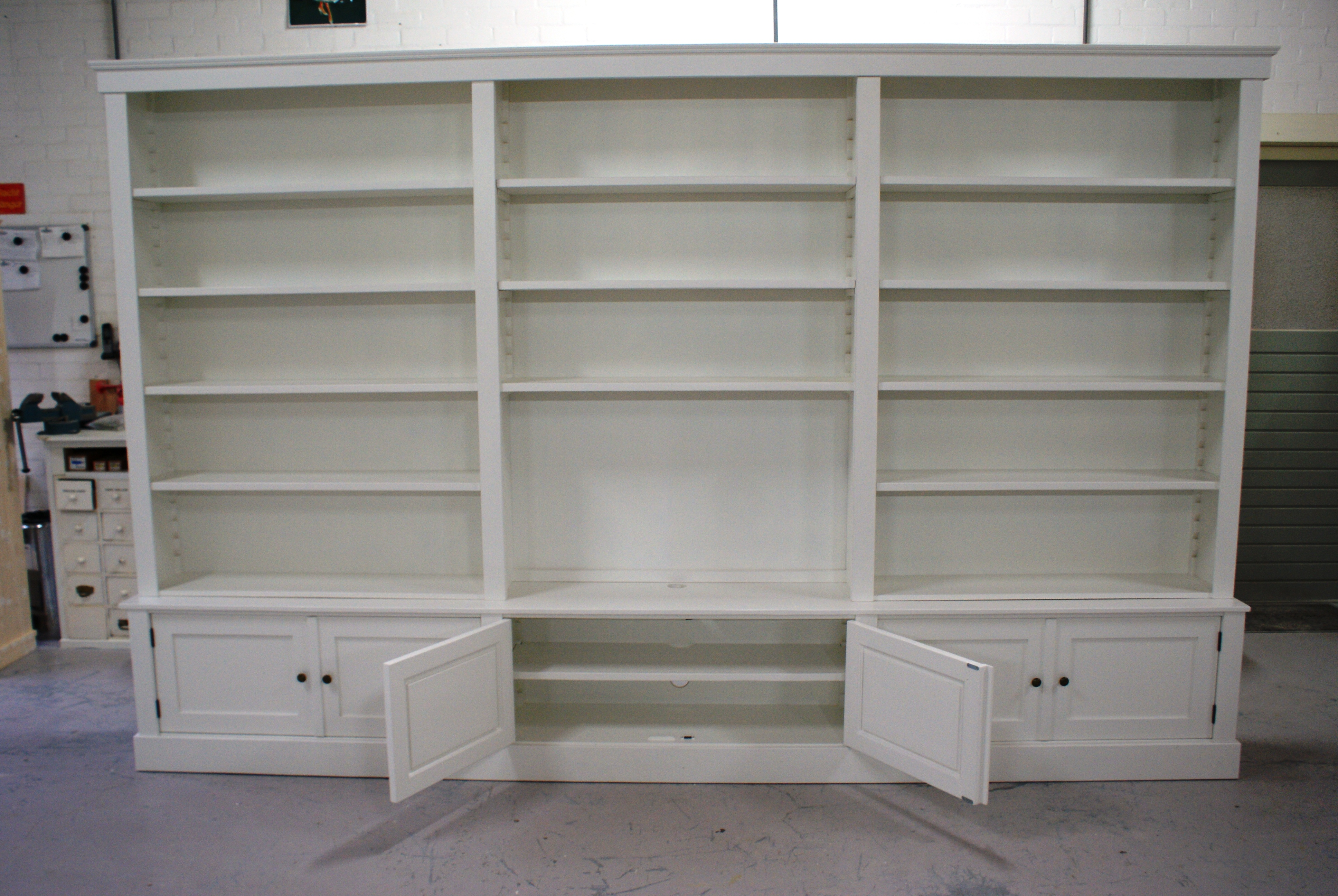 jan des bouvrie boekenkast wit