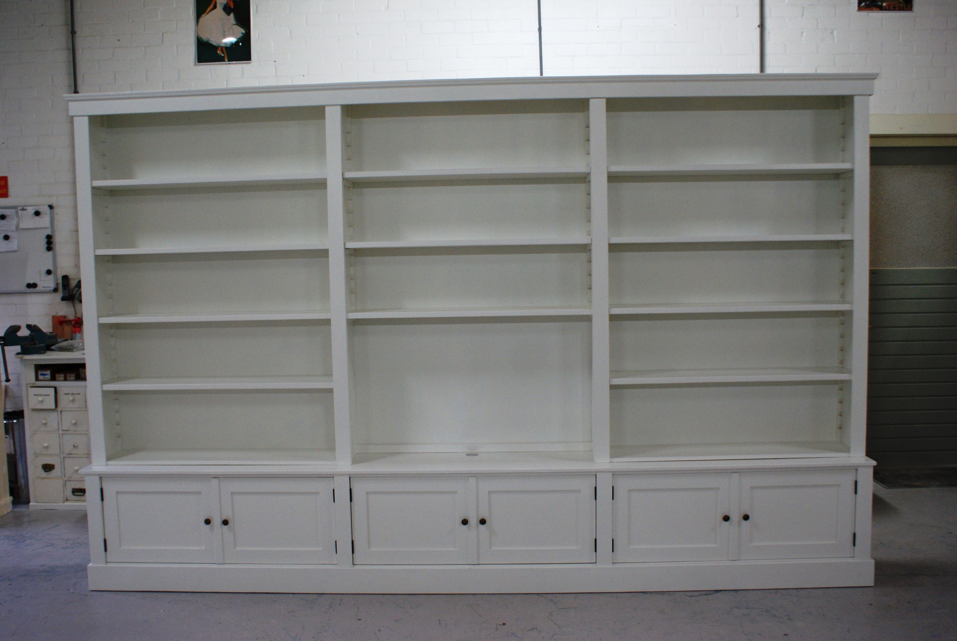 Boekenkast op maat wit - Boekenkasten - de Grenenhoeve