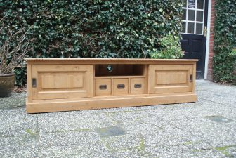 Tv dressoir grenen