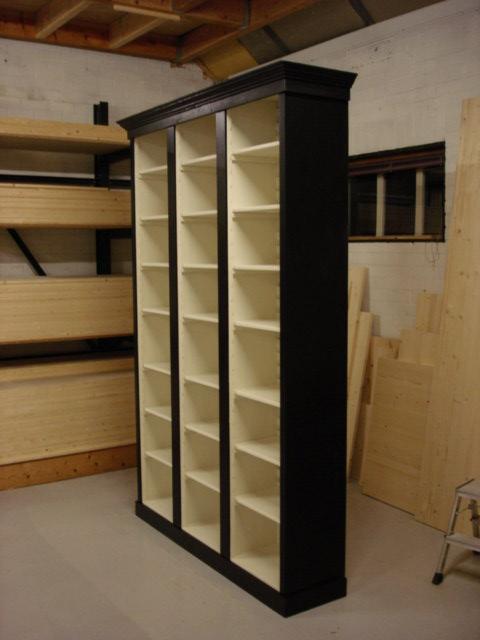 boekenkast zwart