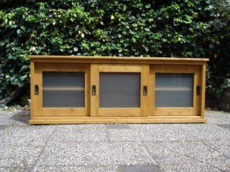 geloogd grenen tv meubel