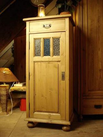 grenen 1 deurs meidenkast