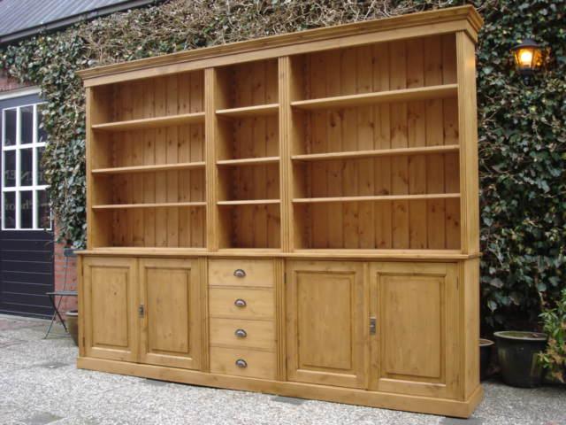 Antiek Grenen Boekenkast.Grenen Boekenkast Leeuwarden