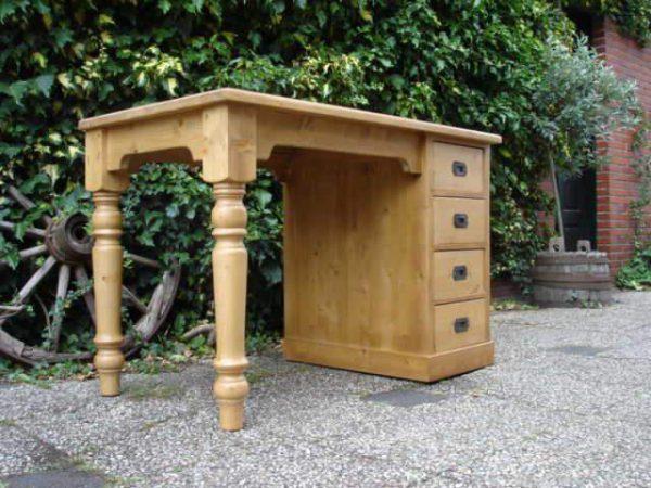 grenen bureau tafelmodel