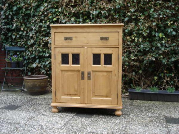 grenen commode deurtjes