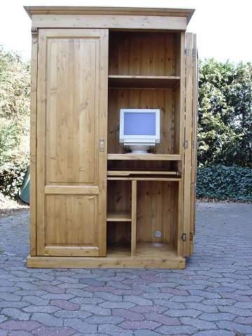 Computerkast Oud Grenen.Grenen Computerkast Zuid Holland