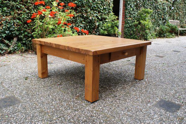grenen salontafel vierkant
