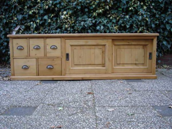grenen tv dressoir