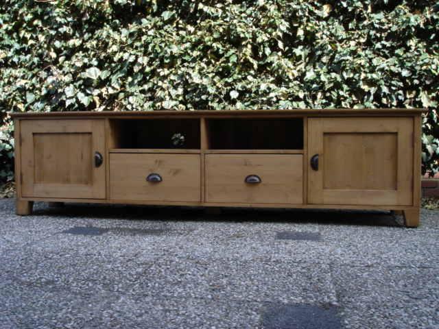 Tv Kast Antiek : Grenen tv meubel tv meubelen op maat de grenenhoeve