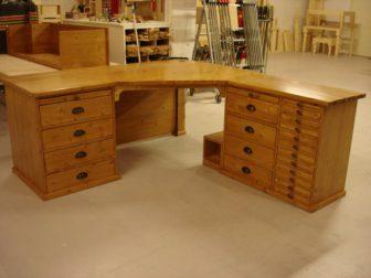 houten bureau