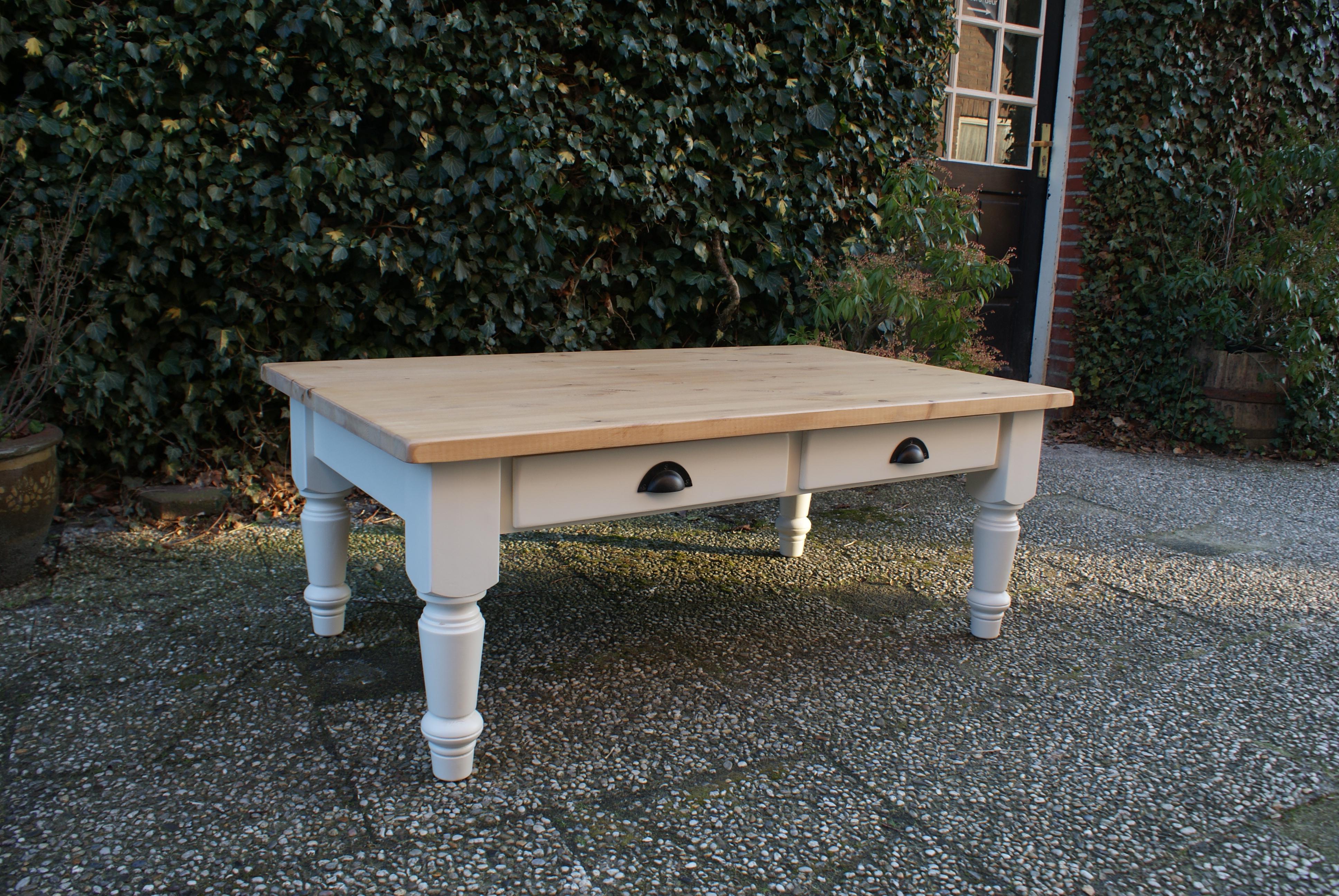 salontafel landelijk maatwerk landelijke tafels