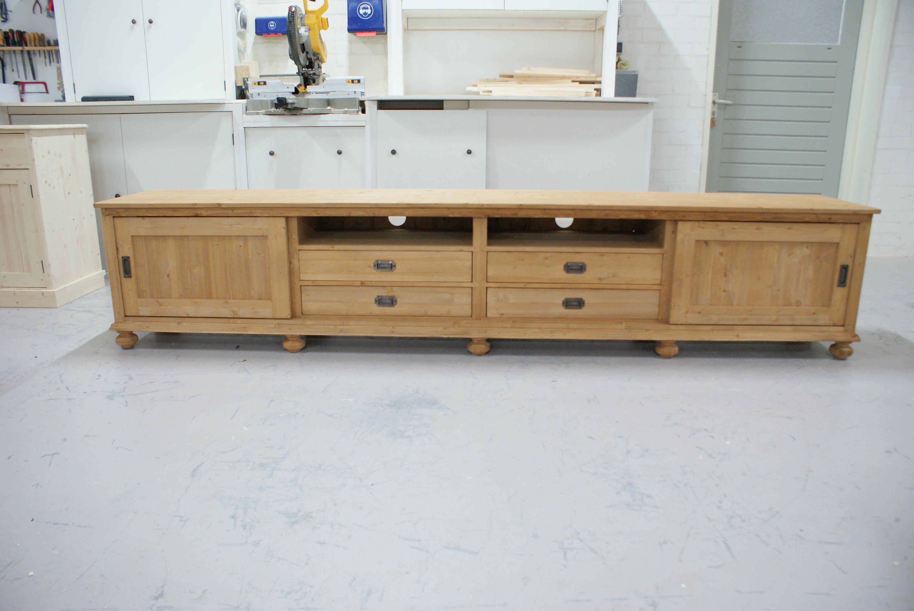 ≥ tv meubel kast dressoir mat witte deuren keuze in hout