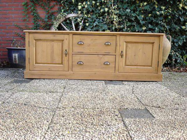 tv meubel op maat hout