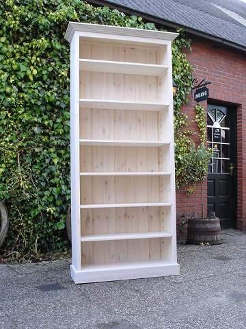 white wash boekenkast amsterdam