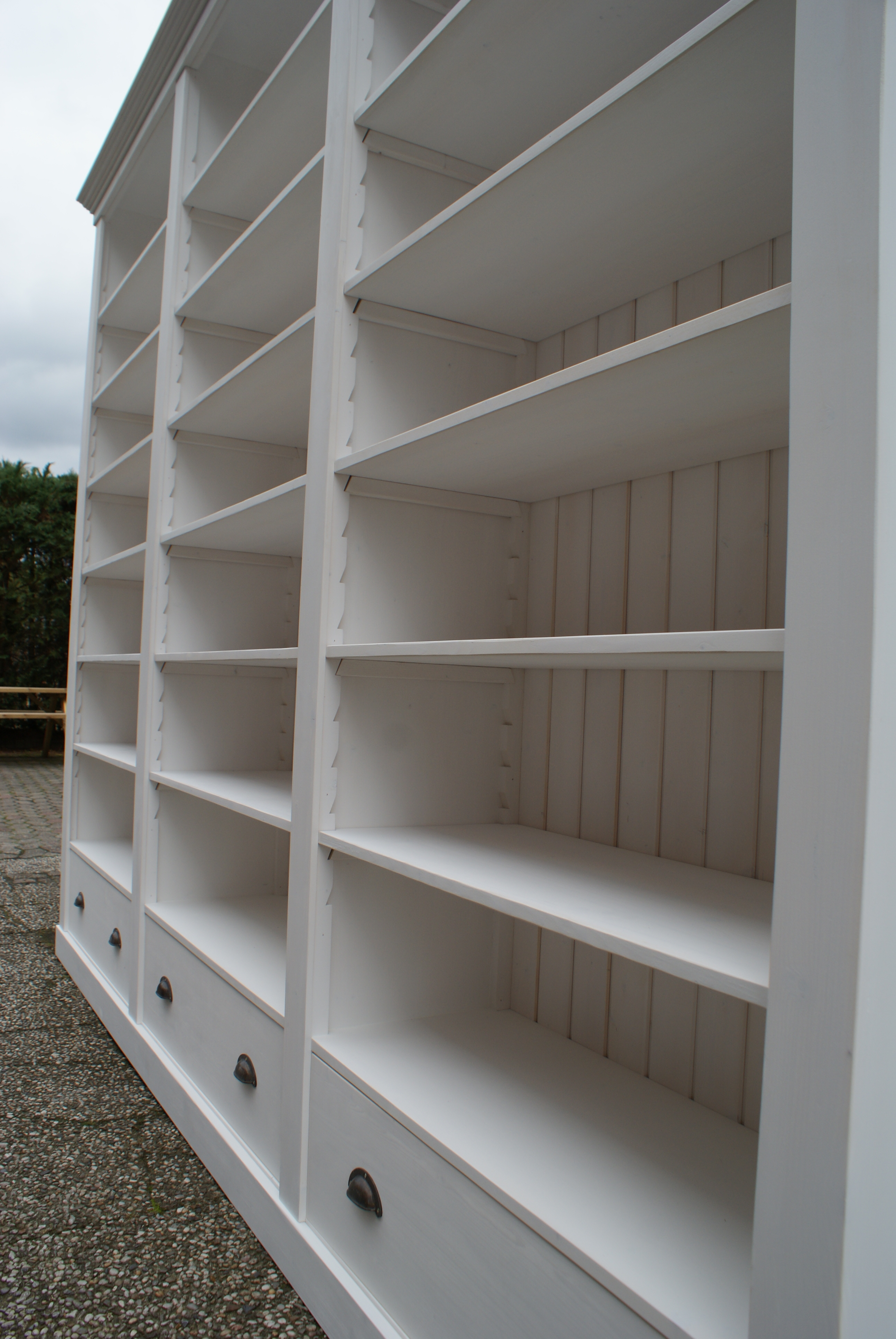 white wash boekenkast assen boekenplanken