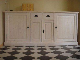 white wash dressoir