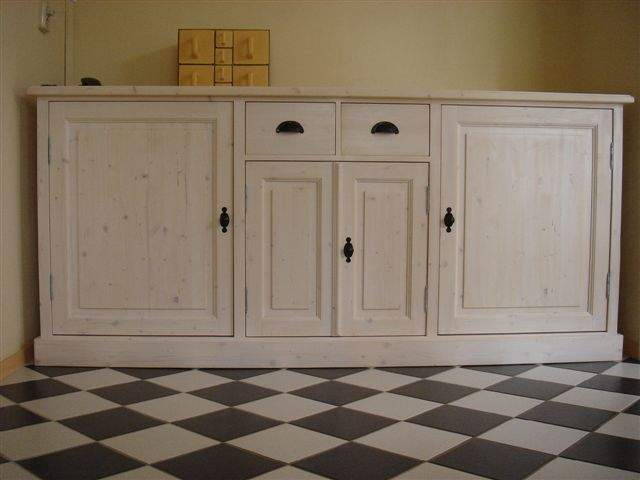 white wash dressoir