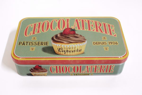 chocoladeblik Lady Cupcake