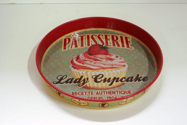 dienblad lady cupcake