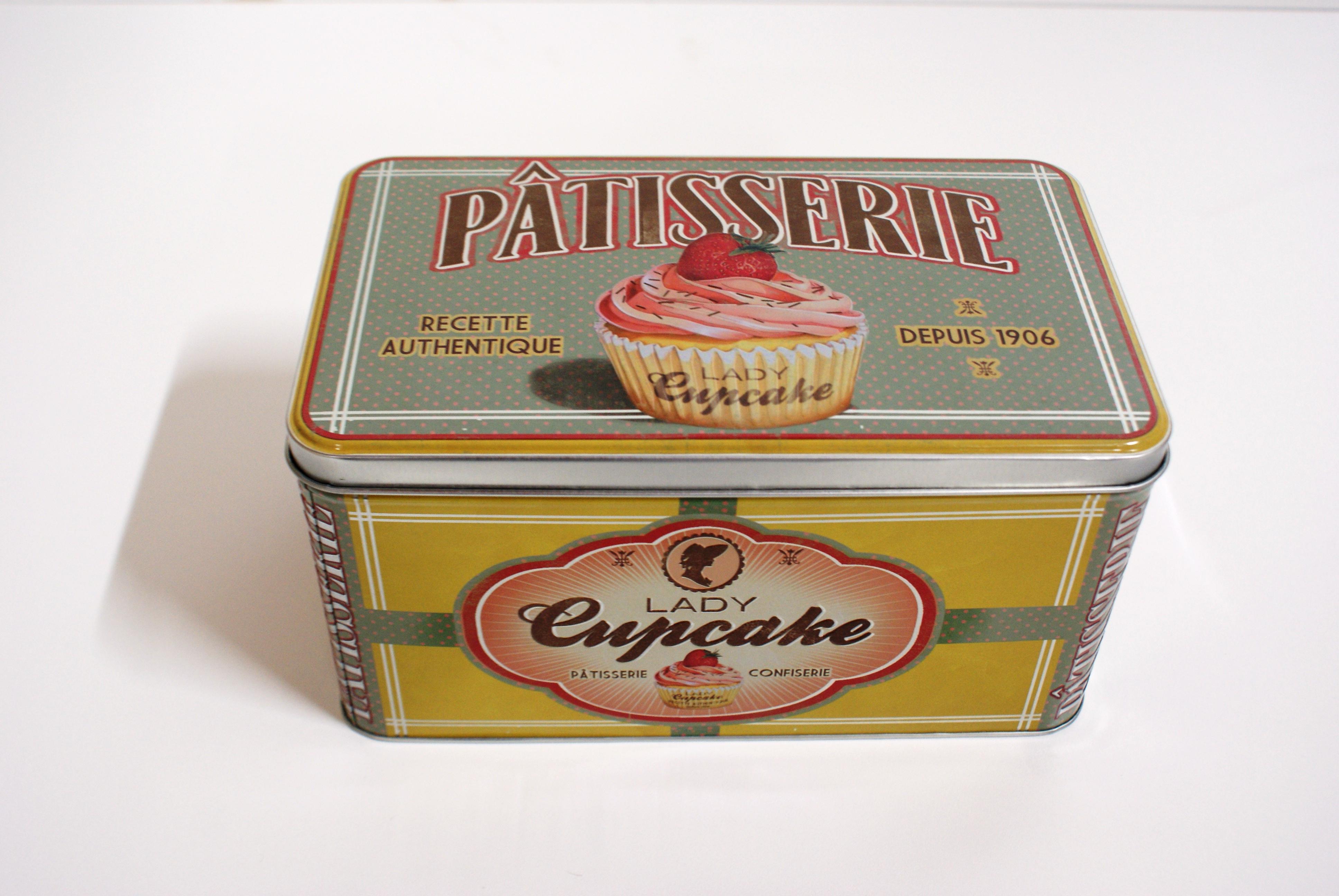 koektrommel lady cupcake