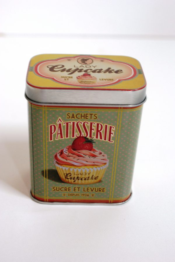 voorraadblik lady cupcake