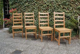moderne grenen stoelen