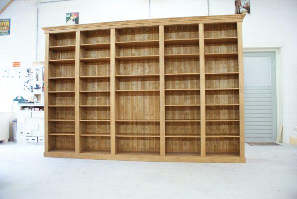 boekenkast op maat Renswoude