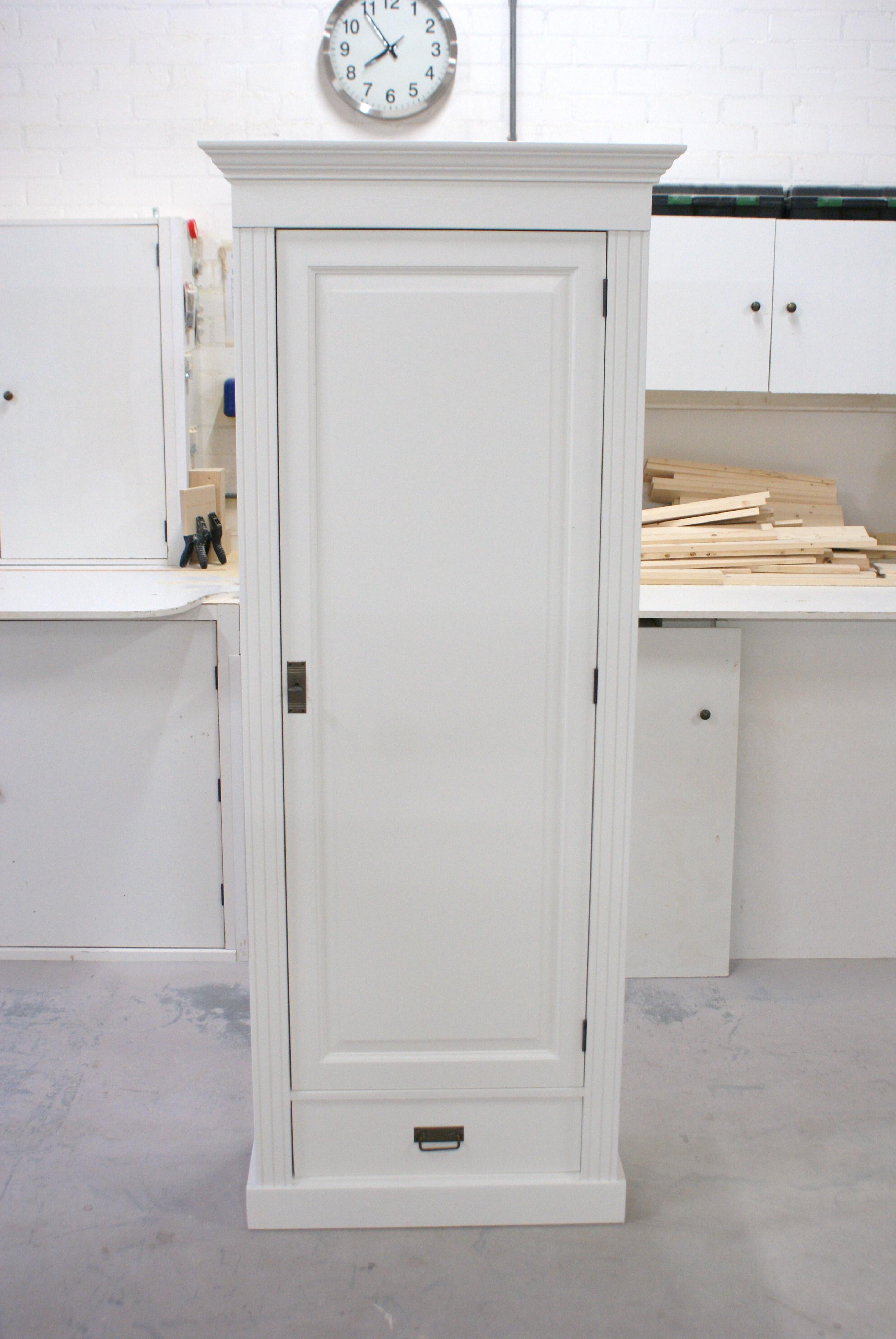 witte 1 deurs kast