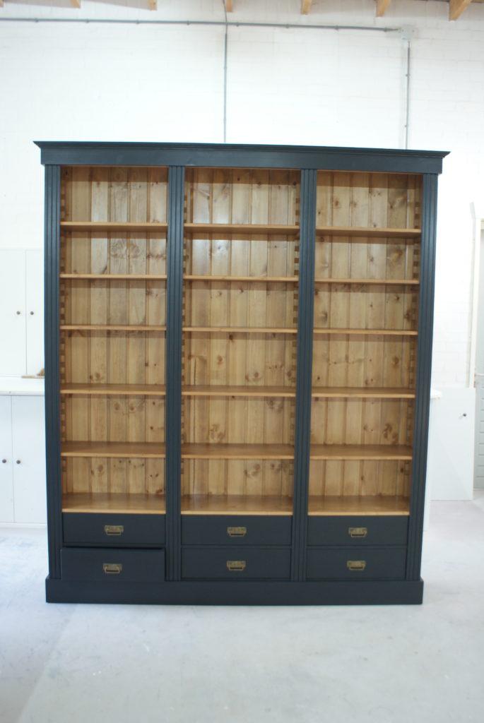 boekenkast op maat zutphen boekenkasten op maat de grenenhoeve. Black Bedroom Furniture Sets. Home Design Ideas