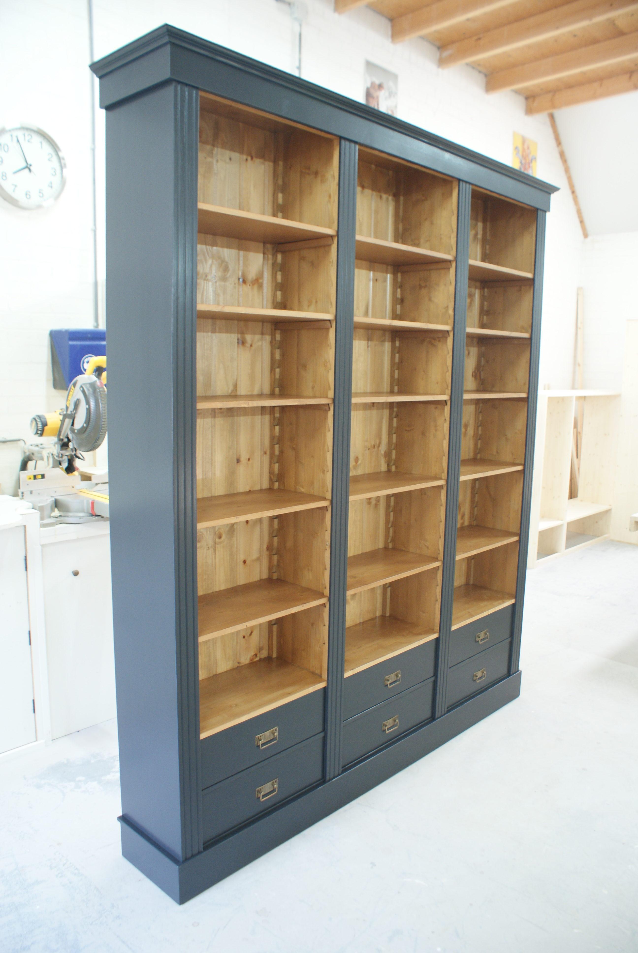 Boekenkast op maat Zutphen - Boekenkasten op maat de Grenenhoeve!