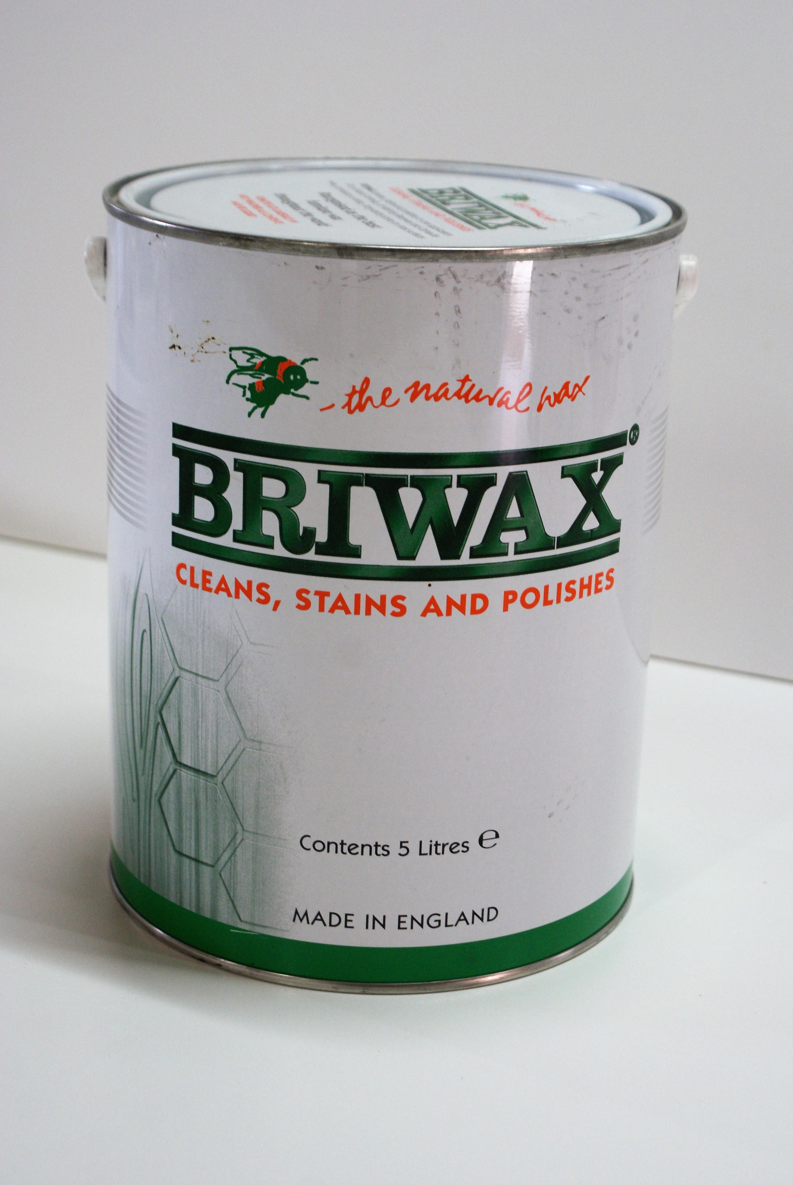 briwax honey 5 liter