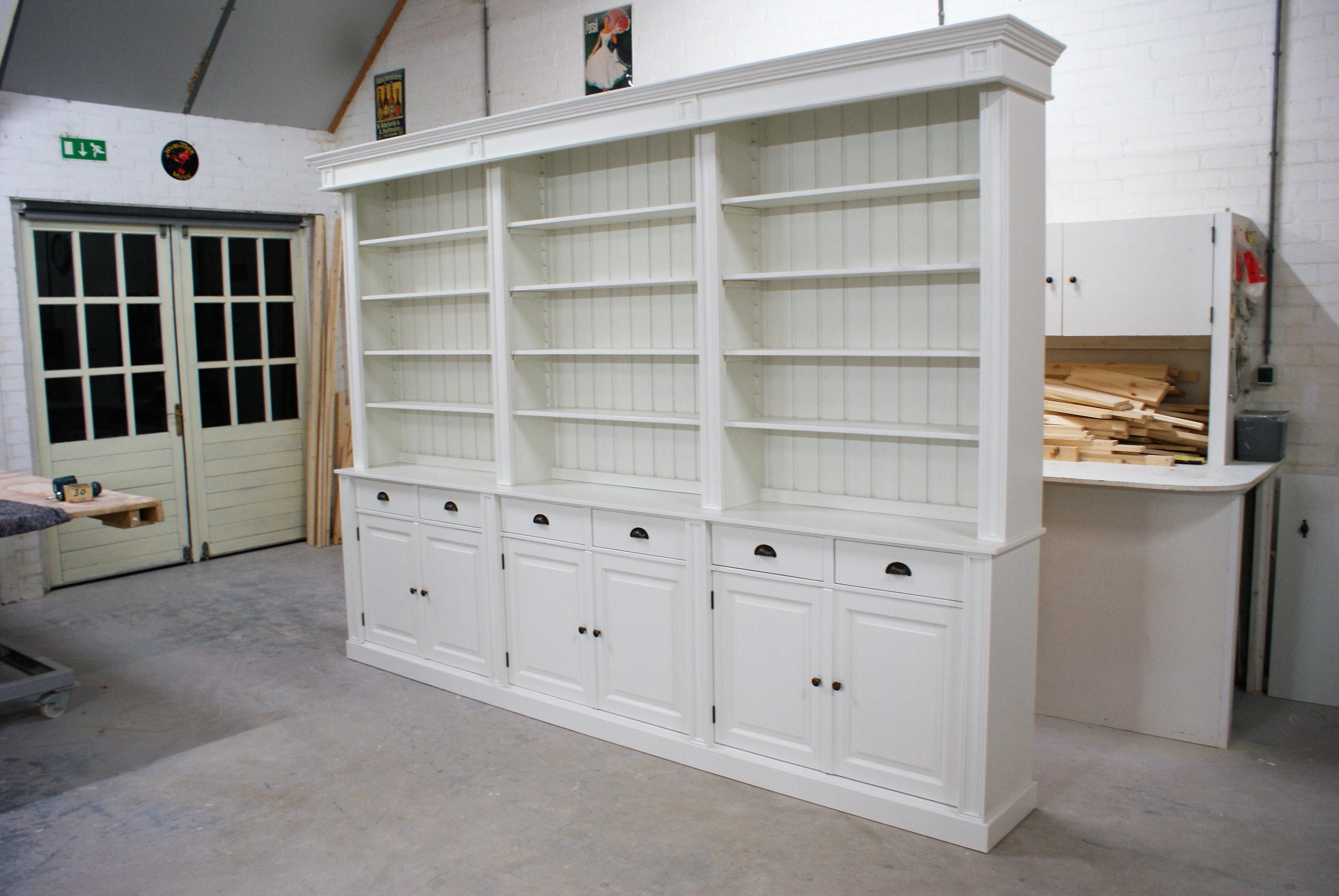 bibliotheekkast op maat ambachtelijk maatwerk de grenenhoeve. Black Bedroom Furniture Sets. Home Design Ideas