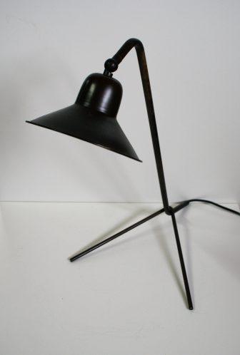 Industriële bureaulamp zwart