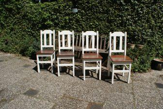 landelijke stoelen