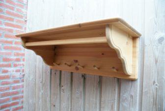 grenen houten kapstok