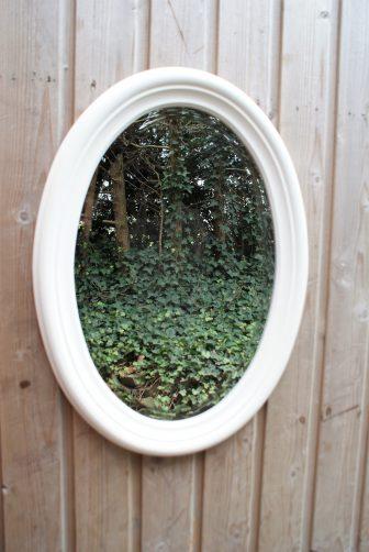 landelijke spiegel ovaal