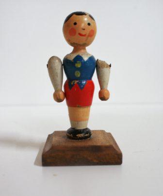 brocante houten poppetje