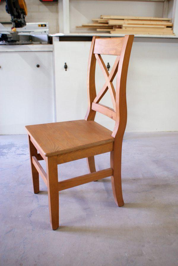 grenen stoel